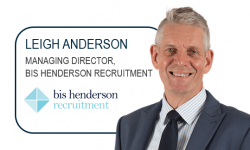 Leigh Anderson, Managing Director, Bis Henderson Recruitment